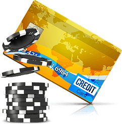 Roulette credit cards