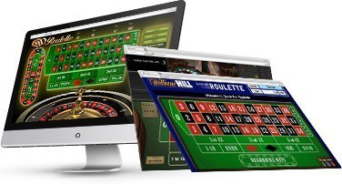 Roulette computer screen