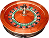 Euro roulette wheel