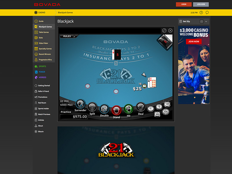 Where Is Bovada Casino Located