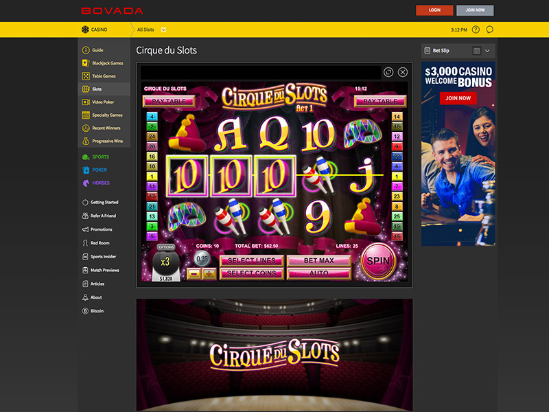 2019 Bovada Casino Review – Find Best Online Casinos