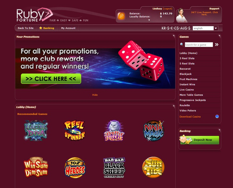 How to Locate a Totally free Ruby Fortune Casino Slot Internet site