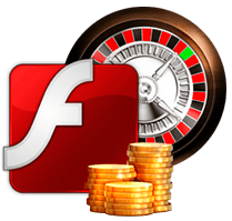 Flash game roulette