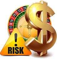 Roulette gambling risk